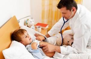 В Смоленской области превышен порог заболеваемости гриппом среди маленьких детей