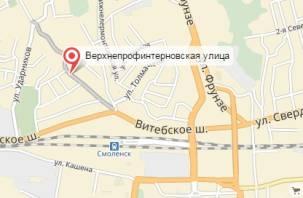 В Смоленске будет ограничено движение по Верхне-Профинтерновской