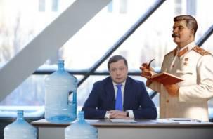 Про Сталина, губернаторские кадры и воду в бутылях