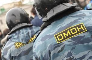 Стройка перинатального центра в Смоленске оцеплена правоохранителями