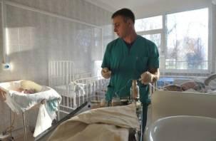 Годовалый ребенок получил сильные ожоги при пожаре в Вязьме