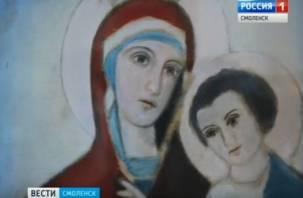 В Смоленск привезли мироточивую икону