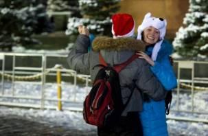 В новогоднюю ночь центр Смоленска перекроют