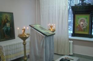 В смоленской областной больнице появился домовой храм