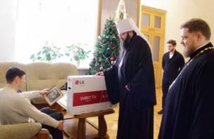 Смоленская епархия сделала подарок инвалиду