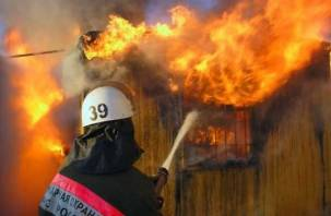 В Шумячском районе при пожаре погиб мужчина