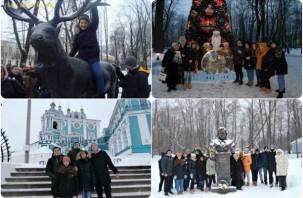 Московские школьники побывали на Смоленщине