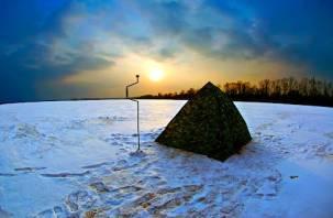 В Гагаринском районе прямо в палатке погиб рыбак