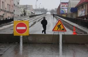 Беляевский путепровод в Смоленске стал пешеходным