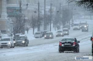 В понедельник Смоленск окажется во власти стихии