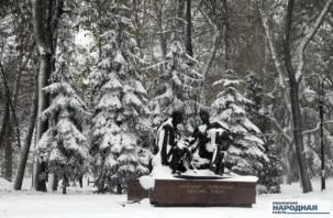 Завтра на Смоленск выпадет снег и станет теплее
