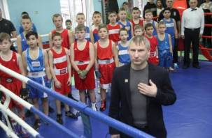 В Смоленске состоялись показательные выступления по боксу. Фоторепортаж