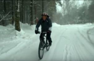 Новосибирский пенсионер доехал до Смоленска на велосипеде