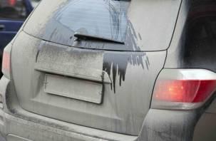 Почти пятьсот смоленских водителей оштрафовали за грязные номерные знаки