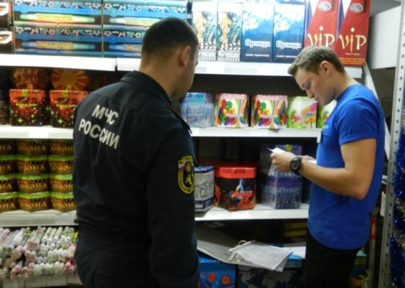 Смоленские спасатели проверят места продажи пиротехники