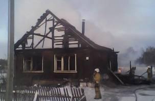 Пожар в Темкинском районе унес жизнь трех смолян