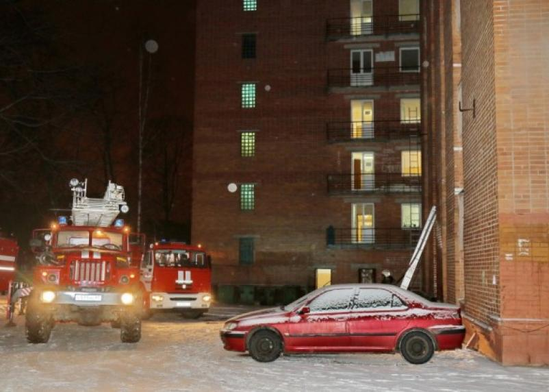Очередной пожар в общежитии Медуниверситета: студенты эвакуированы