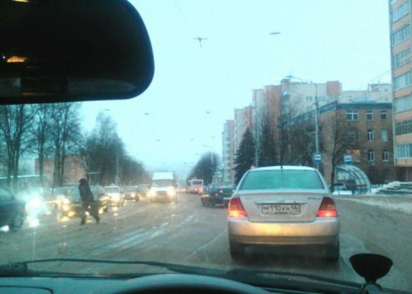 Закрытие Беляевского путепровода спровоцировало транспортный коллапс