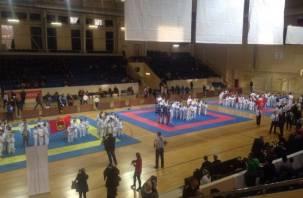 В Смоленске прошли соревнования по восточным единоборствам