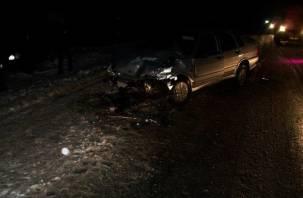В ДТП в Вяземском районе пострадал водитель