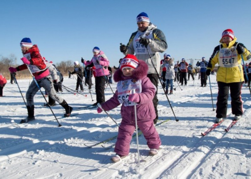 В Смоленске перенесли «Лыжню России» на другой день