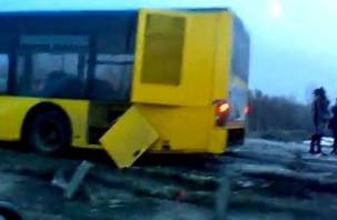 В Вяземском районе попал в аварию автобус с белорусскими туристами