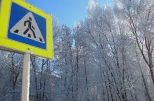 Проблемную «зебру» на улице Попова в Смоленске перенесут