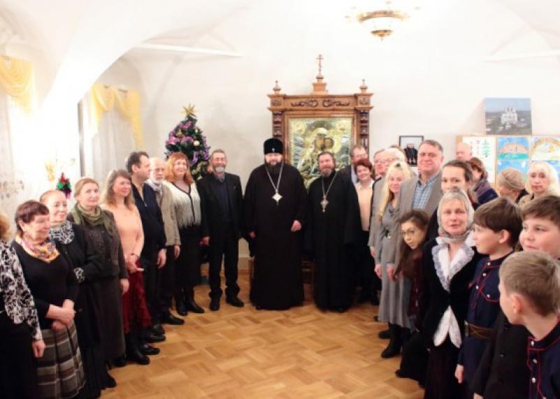 Митрополит встретился со смоленскими православными писателями