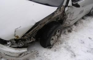 В Сафонове два человека пострадали в ДТП