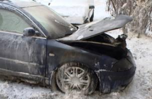 В ДТП в Кардымосвском районе пострадал водитель
