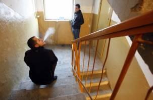 В Рославле курильщики едва не спалили дом