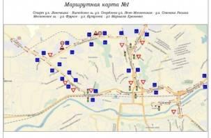 В Смоленске кандидаты в водители поедут по новым маршрутам