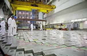 Смоленская АЭС остановила работу энергоблока