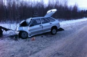 В Десногорске столкнулись два ВАЗа. Есть пострадавшая