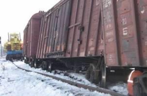 В Вяземском районе сошедшие с рельс вагоны травмировали мужчину