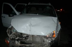 На Смоленщине в лобовом столкновении пострадал водитель