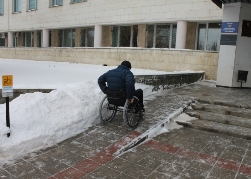 Смоленская администрация недоступна для инвалидов