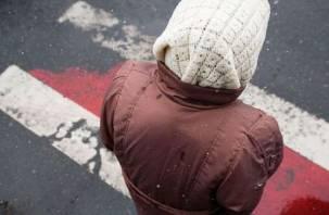 В Смоленске водитель сбил пенсионерку и скрылся
