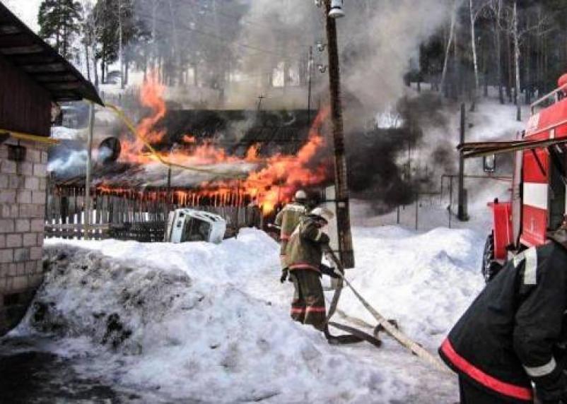 В Смоленской области огонь унес жизни трех человек