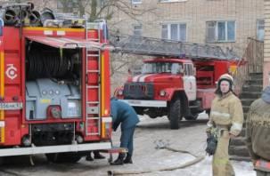В Смоленске из огня спасены 20 человек