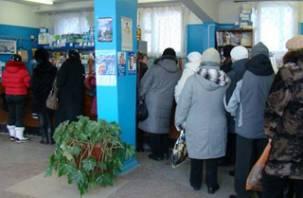 В Смоленске большие очереди в почтовых отделениях