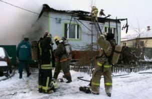 В Дорогобуже сгорел 70-летний мужчина