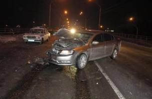 Смоленская девушка-водитель вместе с пассажиром погибли в серьезном ДТП