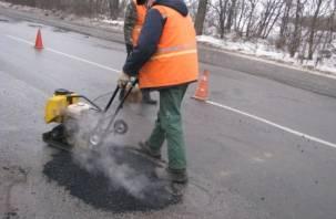В Смоленске начался ремонт проблемных улиц
