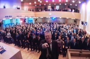 Смоленского губернатора вывели из Высшего Совета ЛДПР