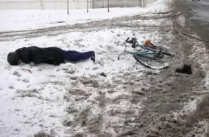 В Ершичском районе водитель сбил велосипедиста и скрылся