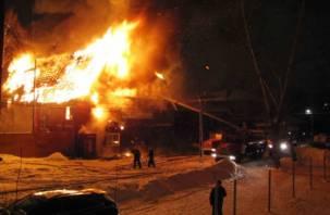 В Рославле при пожаре погибли два человека