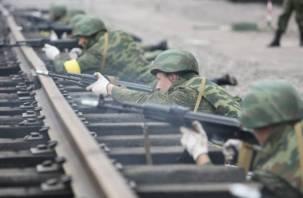 Смоленские военнослужащие подняты по срочной тревоге