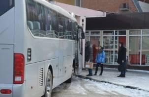 В Смоленске временно изменили расписание пригородных автобусов