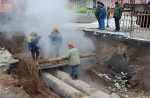 Тысячи смолян сутки просидели без горячей воды и отопления